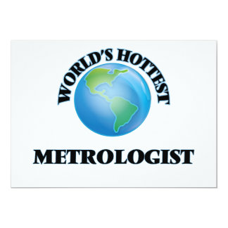 World's Hottest Metrologist Personalized Invite