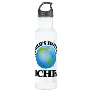 World's Hottest Micheal 24oz Water Bottle