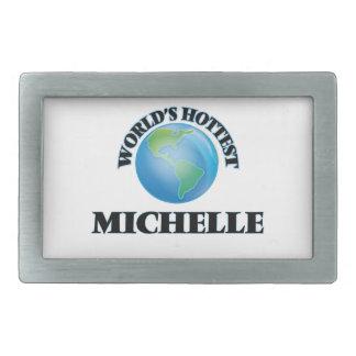 World's Hottest Michelle Belt Buckle