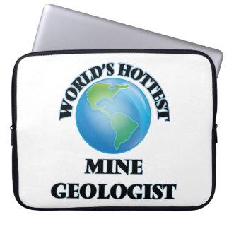 World's Hottest Mine Geologist Computer Sleeve