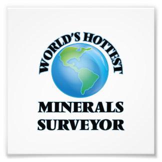 World's Hottest Minerals Surveyor Photographic Print
