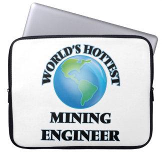 World's Hottest Mining Engineer Laptop Sleeve