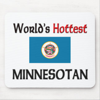 World's Hottest Minnesotan Mouse Pad
