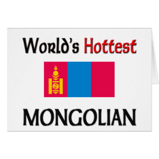 World's Hottest Mongolian Card