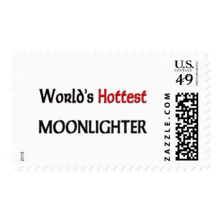 Worlds Hottest Moonlighter Postage Stamps