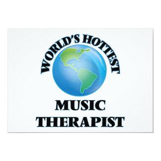 World's Hottest Music Therapist Custom Invitation