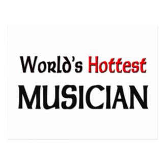 Worlds Hottest Musician Postcard