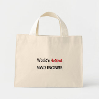 Worlds Hottest Mwd Engineer Canvas Bags