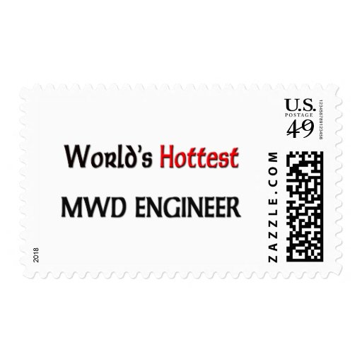 Worlds Hottest Mwd Engineer Stamps
