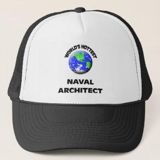 Worldu0026#39;s Hottest Naval Architect Trucker Hat