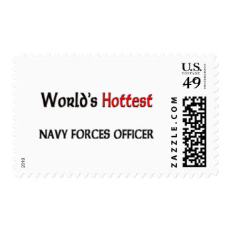 Worlds Hottest Navy Forces Officer Stamp
