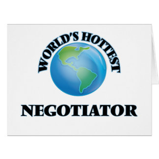 World's Hottest Negotiator Cards