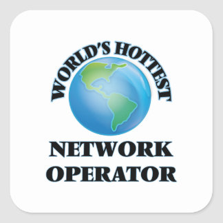 World's Hottest Network Operator Sticker