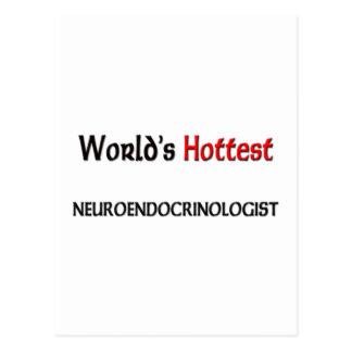 Worlds Hottest Neuroendocrinologist Post Card
