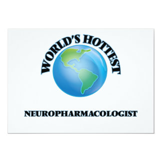 World's Hottest Neuropharmacologist Custom Invitation