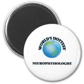 World's Hottest Neurophysiologist Fridge Magnet