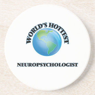 World's Hottest Neuropsychologist Sandstone Coaster