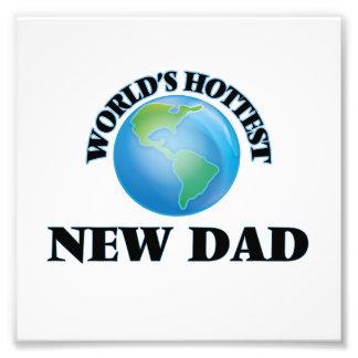 World's Hottest New Dad Photo Print