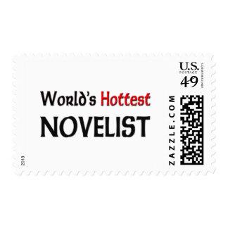Worlds Hottest Novelist Stamp