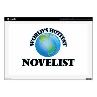 World's Hottest Novelist Decals For Laptops