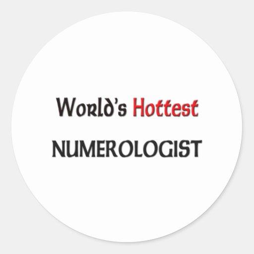 Worlds Hottest Numerologist Sticker