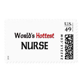 Worlds Hottest Nurse Stamps