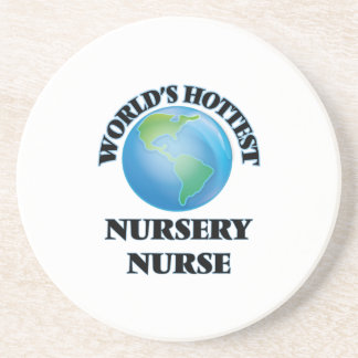 World's Hottest Nursery Nurse Drink Coaster