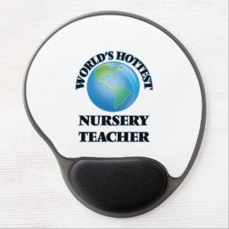 World's Hottest Nursery Teacher Gel Mouse Pad
