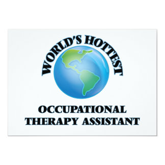 World's Hottest Occupational Therapy Assistant Personalized Announcement