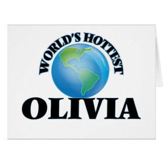 World's Hottest Olivia Cards