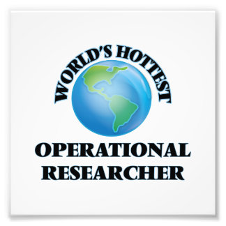 World's Hottest Operational Researcher Photo Art