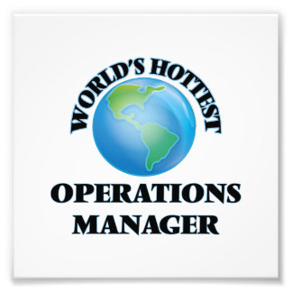World's Hottest Operations Manager Photo