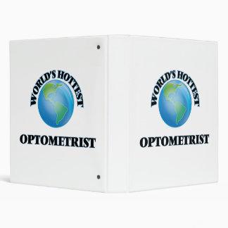 World's Hottest Optometrist Vinyl Binder