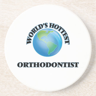 World's Hottest Orthodontist Drink Coasters