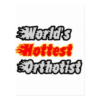 World's Hottest Orthotist Postcard