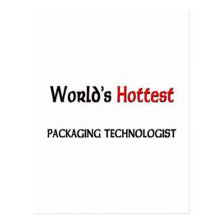Worlds Hottest Packaging Technologist Postcard