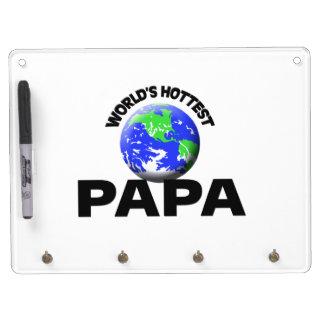World's Hottest Papa Dry-Erase Whiteboards
