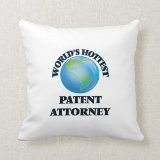 World's Hottest Patent Attorney Pillows
