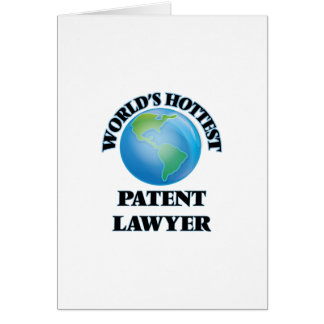 World's Hottest Patent Lawyer Card