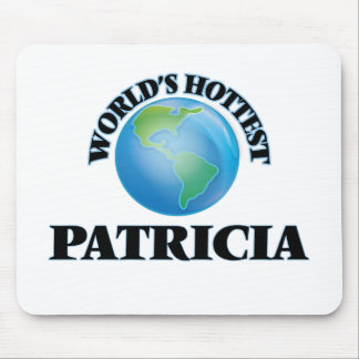 World's Hottest Patricia Mouse Pad