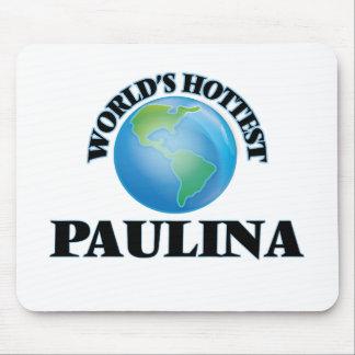 World's Hottest Paulina Mouse Pad