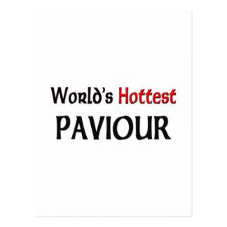 Worlds Hottest Paviour Postcards