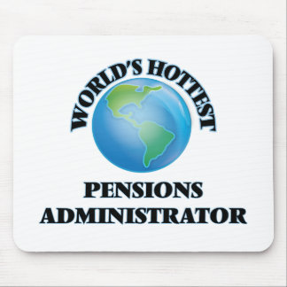 World's Hottest Pensions Administrator Mouse Pad