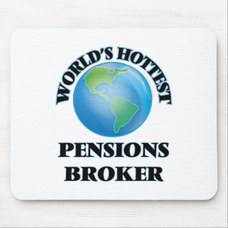 World's Hottest Pensions Broker Mouse Pad