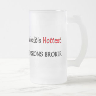 Worlds Hottest Pensions Broker Coffee Mug