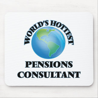 World's Hottest Pensions Consultant Mouse Pad