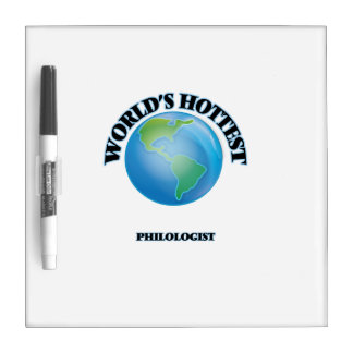 World's Hottest Philologist Dry Erase Whiteboards