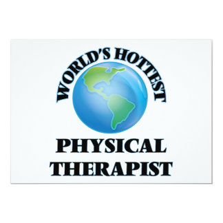 World's Hottest Physical Therapist Invitation