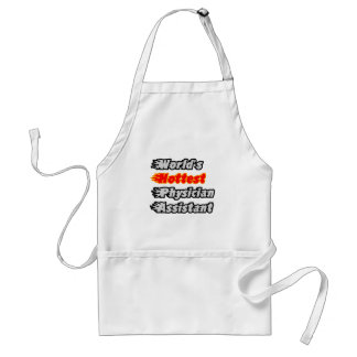 World's Hottest Physician Assistant Adult Apron