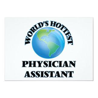 World's Hottest Physician Assistant Custom Invitation